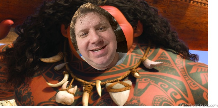 Dad as Maui