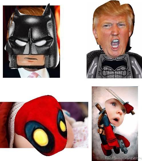 Baby Trump Bat Pool