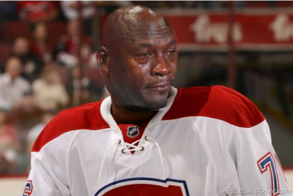 Crying Subban