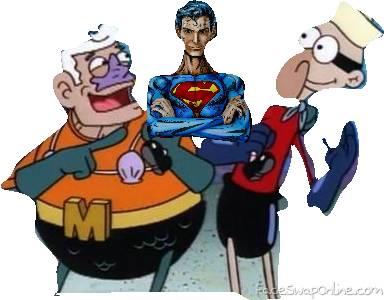 Eponje bob Superman