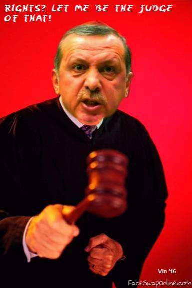 Erdogan dismisses all 711 judges