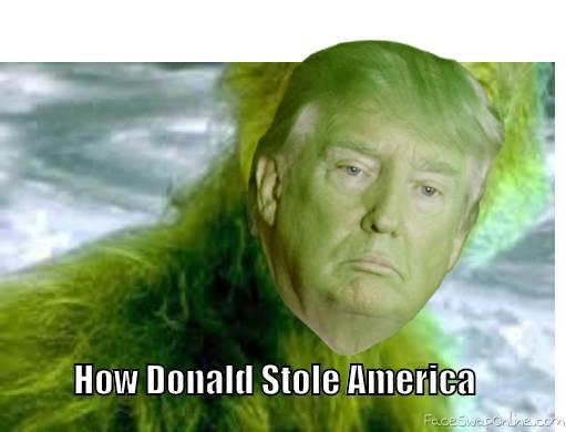 Grinch Trump
