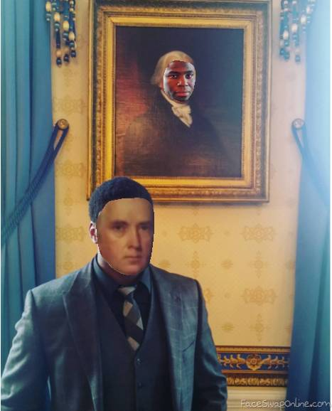 HAMILTON: James Madison Face Swap
