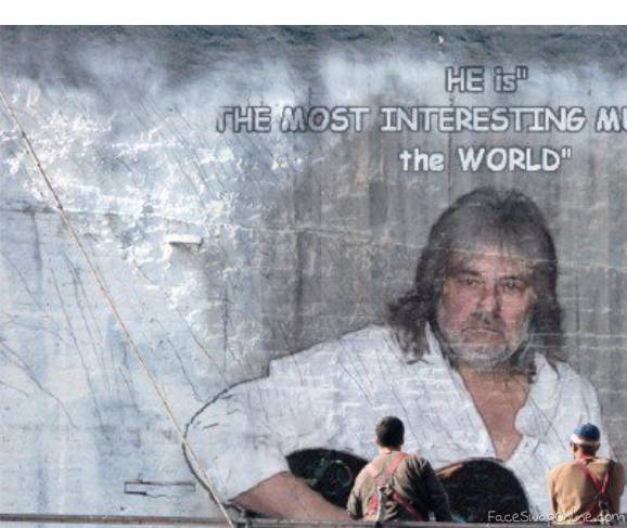 """He is the most interesting Musician in the World"""""""