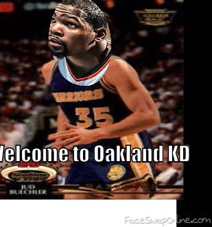 KD to Warriors