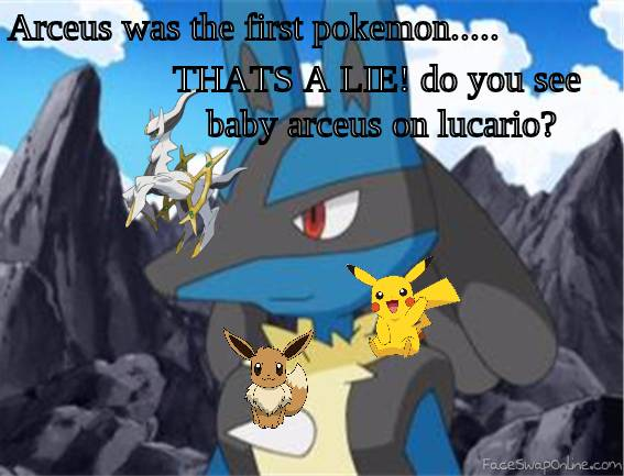 LOL lucario was first pokemon