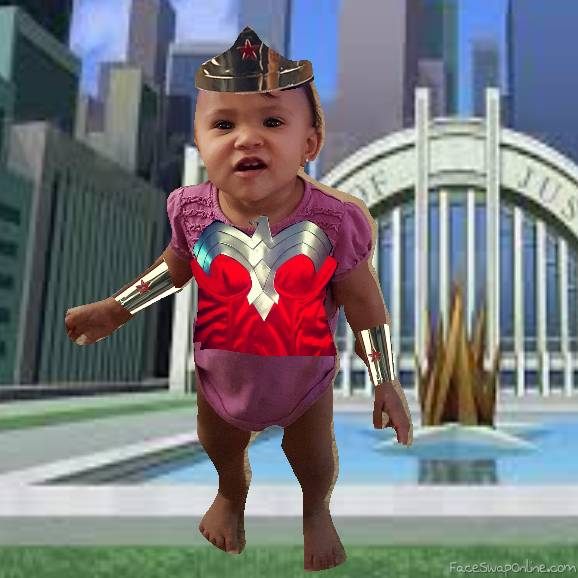 Lil Wonder woman