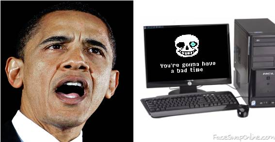 Obama Accidentally killed Papyrus and doesn't know what going on