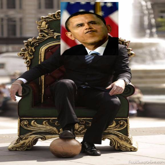 Obama wants to be king