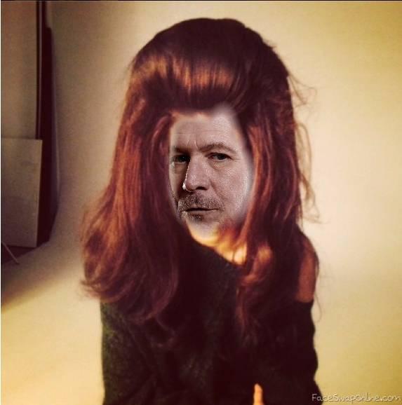 Oldman big hair