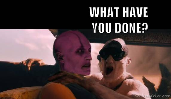 Quan Chi in Mad Max