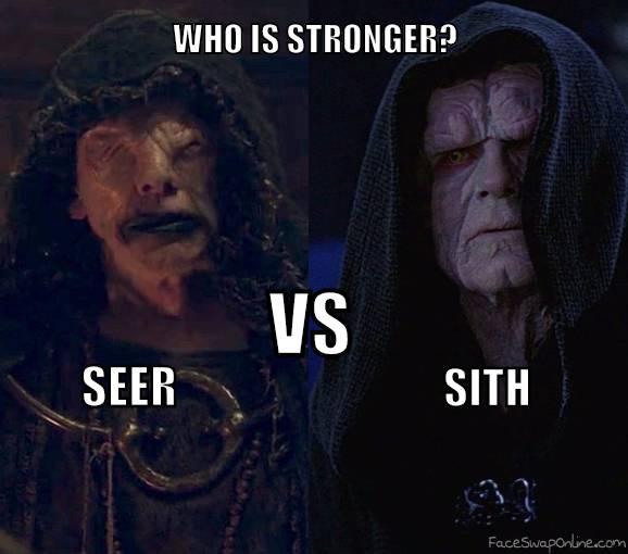 Seer VS Sith