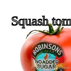 Squashed Tomato