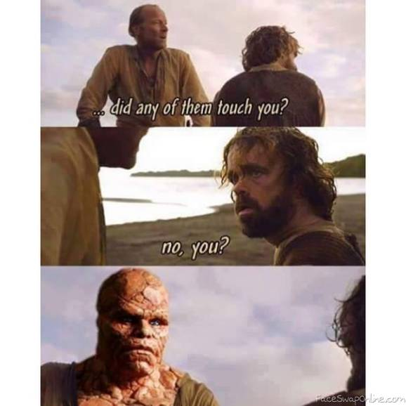 The Thing in Game of Thrones