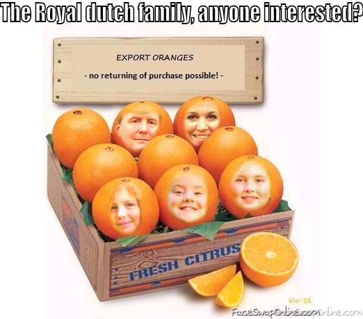 The royal dutch family, anyone interested?