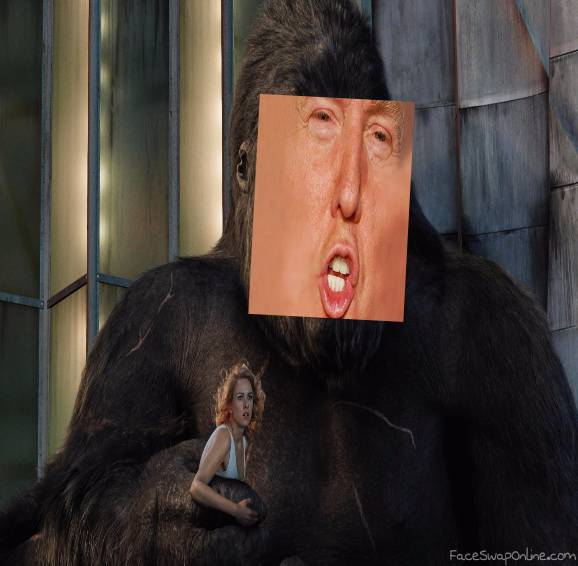 Trump Kong Steals Yo Girl
