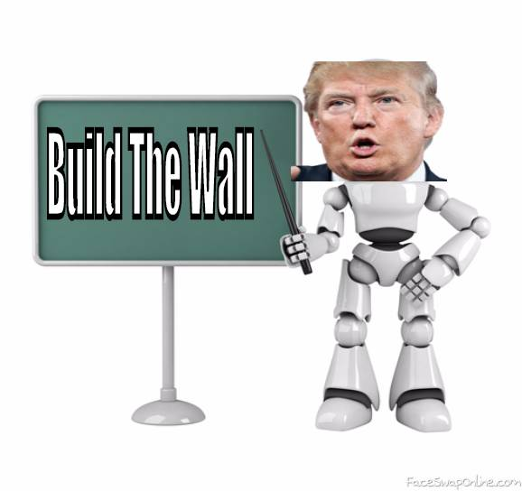 Trump Trys To convince children to help build the wall