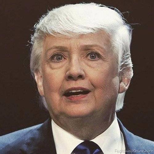 new disguise for hillary